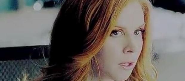 "Donna makes a decision on the 100th episode of ""Suits' [Image: FlowerxHearts/YouTube screenshot]"
