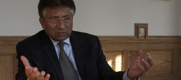 Former President of Pakistan Pervez Musharraf, 2011 / [Image by Andrew Griffin via Flickr, CC BY 2.0]