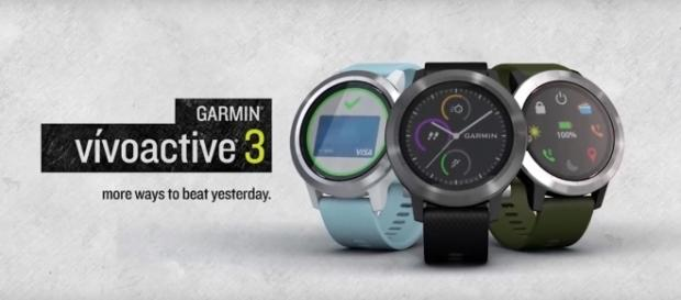 Garmin Vivoactive 3 IFA 2017 (RIZKNOWS/YouTube Screenshot) https://www.youtube.com/watch?v=Bq6N_gRuZzw