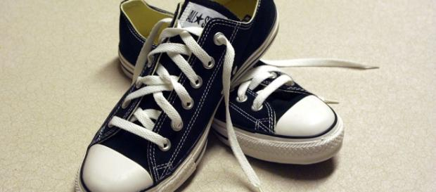 He has a sneaker out, but not this one. Brooke Fishwick via Wikimedia Commons
