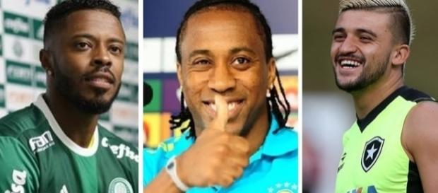Jogadores do Palmeiras - temp - 2017