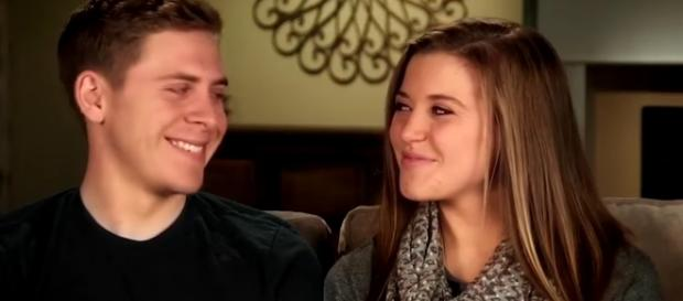 Joy-Anna Duggar is pregnant with first child. YouTube/ET