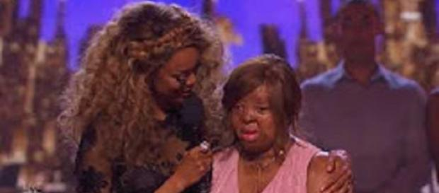 "Kechi will keep inspiring by her song and her presence in the semifinals on ""America's Got Talent."" Screencap The Most Voices/YouTube"