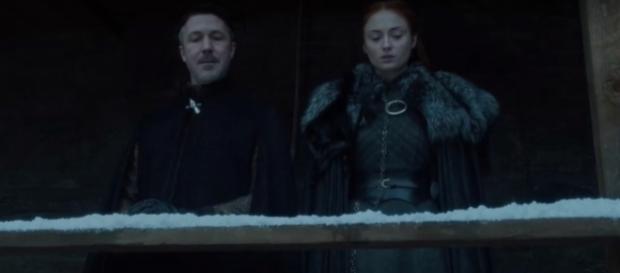 Littlefinger and Sansa Stark, Game of Thrones- (YouTube/Ben Quincy-Shaw)