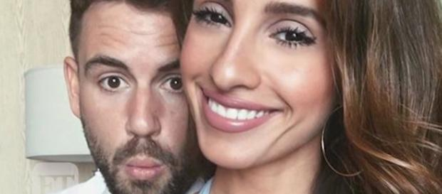 Nick Viall and Vanessa Grimaldi are reportedly filming for another series. Photo by Entertainment Tonight/YouTube Screenshot