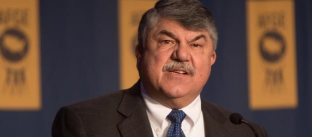 President of the AFL-CIO Richard Trumka. / [Image by AFGE via Flickr, CC BY 2.0]