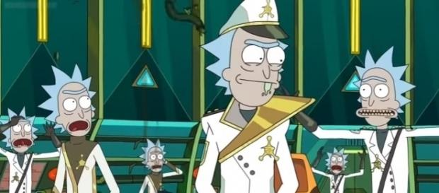 "The Citadel of Ricks in ""Rick and Morty"" Season 3. (Photo:YouTube/Gucci Versace)"