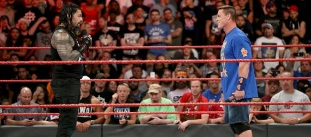 WWE news: Roman Reigns claims he is the first 'true gray area guy' - Monday Night Raw screencap