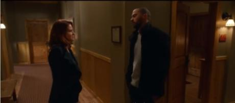 Grey's Anatomy 13x16 Jackson and April kiss (Japril the Sequel) - The Pompeo Method/YouTube