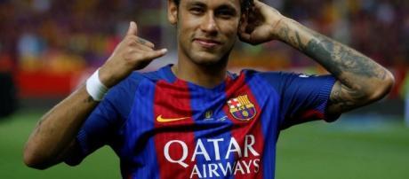 Neymar al Paris Saint-Germain: lettera di saluto ai tifosi del Barcellona - thesun.co.uk