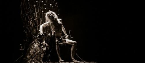 A White Walker sitting on the Iron Throne - Mark Turner Via Flickr