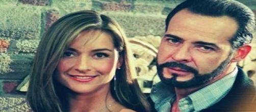 Ana Cristina e Otávio Vila Real (Foto: Reprodução/Televisa)