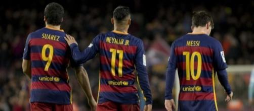 Arsenal-Barcelone: Messi-Suarez-Neymar, le casse-tête de Wenger - francetvinfo.fr