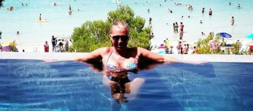 Belén Esteban, vacaciones en Menorca