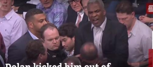 Charles Oakley accepts plea deal for MSG incident but still banned for a year - (Image credit: YouTube| New York Daily News)