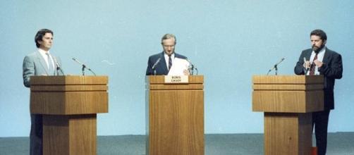 Em 1989, Collor de Mello e Lula disputavam as eleições