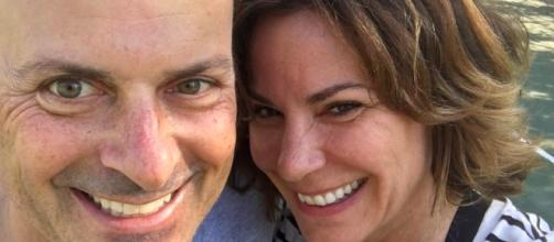 LuAnn de Lesseps takes a selfie with estranged husband Tom D'Agostino. [Photo via Instagram]