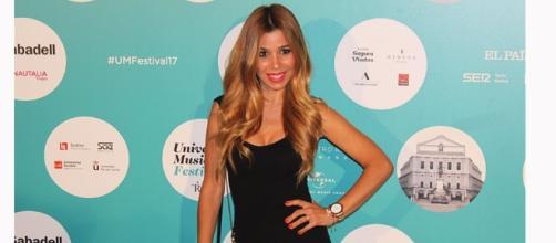 Natalia de OT en el concierto de Luis Fonsi en Madrid