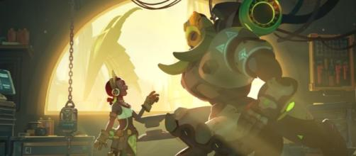 """Overwatch"" director Jeff Kaplan shares their current plan for Orisa (Image YouTube/PlayOverwatch)"