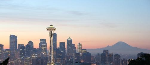 Space Needle in Seattle (Public domain wikimedia)