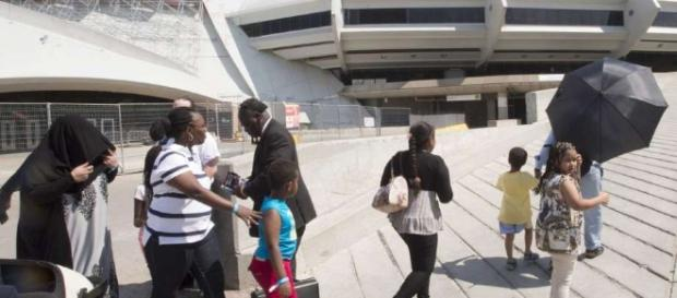 Canada asylum seekers housed at Montreal's Olympic Stadium ... - seattlepi.com