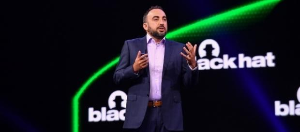 Facebook security chief Alex Stamos addressed the Black Hat conference in Las Vegas. (Photo via Flickr-Black Hat)