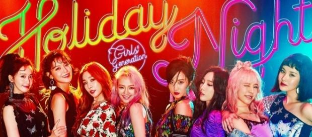 Girls' Generation 'Holiday Night' promo teaser (via Twitter - Girls' Generation)