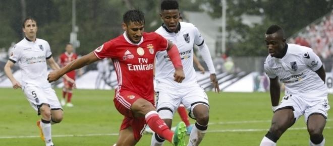 Benfica, 3 - V. Guimarães, 1: Resumo do jogo da Supertaça