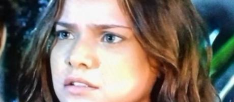 Milena Toscano é Joana em 'O Rico e Lázaro' (Foto: Reprodução/Record TV)