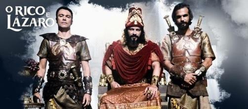A morte de Nabucodonosor vai movimentar a novela 'O Rico e Lázaro'