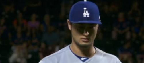 Darvish made a big game. Image via Youtube/MLB channel screencap