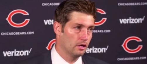 Jay Cutler wants the Dolphins to assure him of the starting quarterback spot -- Official Chicago Bears via YouTube