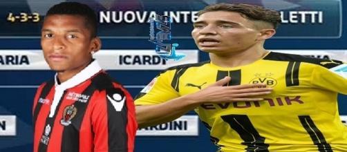 La nuova Inter con Dalbert ed Emre Mor