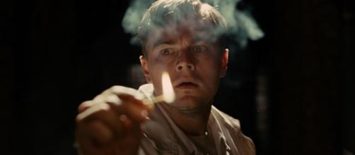 Leonardo Di Caprio in una scena del thriller 'Shutter Island'.