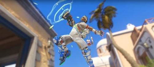 "Lucioball in ""Overwatch"" will arrive with a Competitive version and will also offer Competitive points (Image - YouTube/PlayOverwatch)"