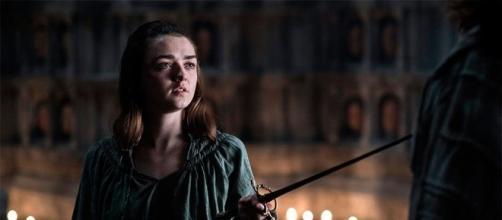 Maisie Williams who plays Arya Stark in Game of Thrones (Source: GuilhermeYuji via Flickr)