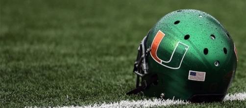 Miami Hurricanes helmet - palmbeachpost.com