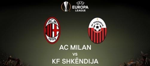 Milan-Shkëndija in Europa League