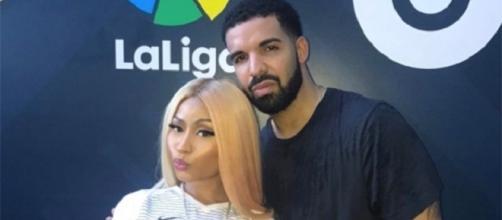 Nicki Minaj e Drake parecem estar namorando
