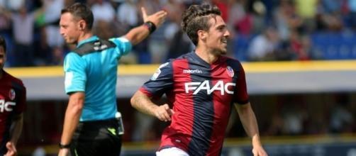 Simone Verdi ,esterno offensivo del Bologna classe '92, ha totalizzato 29 presenze e 6 gol nell'ultima stagione- bolognatoday.it