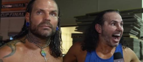 """The Broken Hardy"" may return as ""The Woken Hardys"" Image credits- WWE/Youtube"