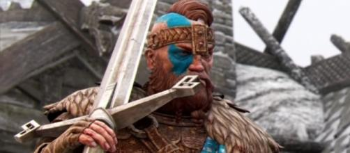 "The two new classes coming to ""For Honor"" are Highlander and Gladiator (via YouTube/Ubisoft US)"