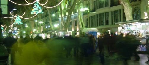 Turismofobia en Barcelona, España