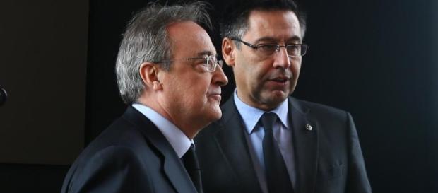 Bartomeu, Agnelli y Florentino, juntos contra el racismo - mundodeportivo.com