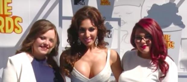 Farrah Abraham and the other Teen Mom OG women--Image via YouTube/Hollywood Life