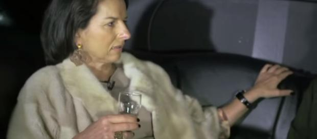 In der Kritik: Claudia Obert (55) liebt echten Pelz / Foto: Philip Traber