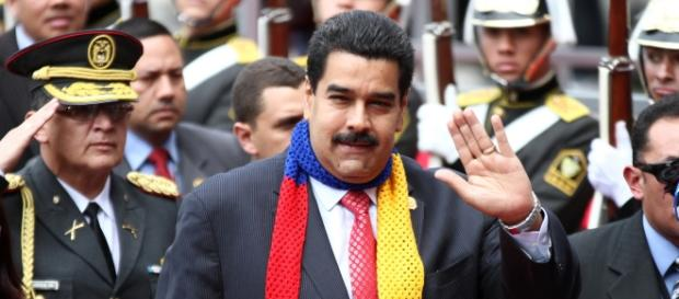 Inauguration day of Maduro's presidency. Photo: Luis Astudillo C. / Andes via Flickr