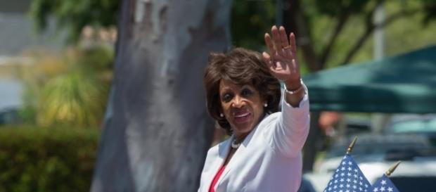 Maxine Waters discusses whether she would run for president in 2020- mark6mauno, Flickr.