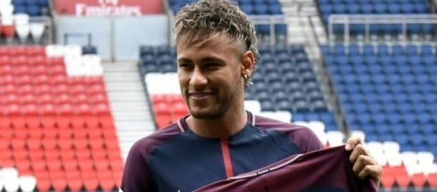 Neymar, privé de match contre Amiens (photo via leparisien.fr)