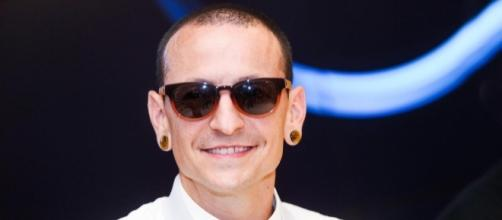 Chester Bennington's memorial items were auctioned on eBay. [Photo via Linkin Park/Facebook]